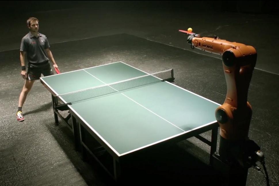 乒乓對決!機械人 vs 德國冠軍 3 月上演