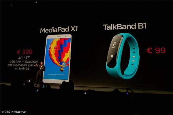 手帶可通話 傾足 7 小時?Huawei Talkband B1