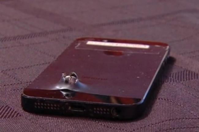 iPhone 5S夠硬淨!救回美國士兵一命