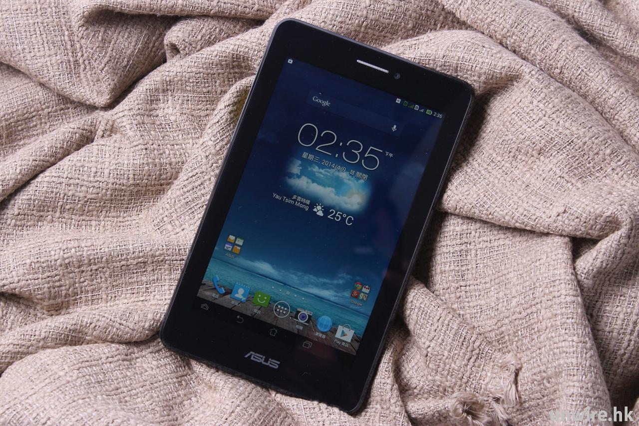 【樂手玩】大芒、雙卡雙待 - ASUS Fonepad 7 Dual SIM