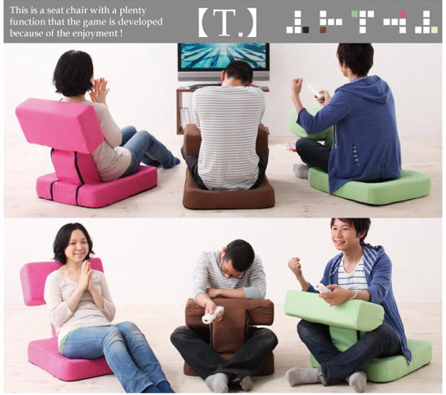日本製!為打機而生的「Game 迷椅子」