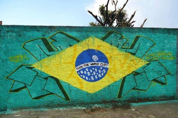 Street-Art-FIFA-World-Cup-in-Rio-de-Janeiro-Brazil-Fuck-the-World-Cup