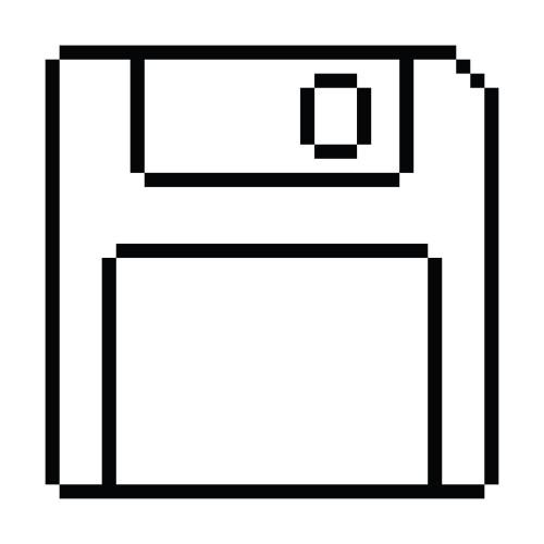 Susan Kare floppy disk icon