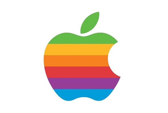 apple-second-logo-rainbow-bitten