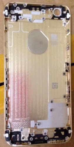 gold-iPhoen-6-rear-shell-internal