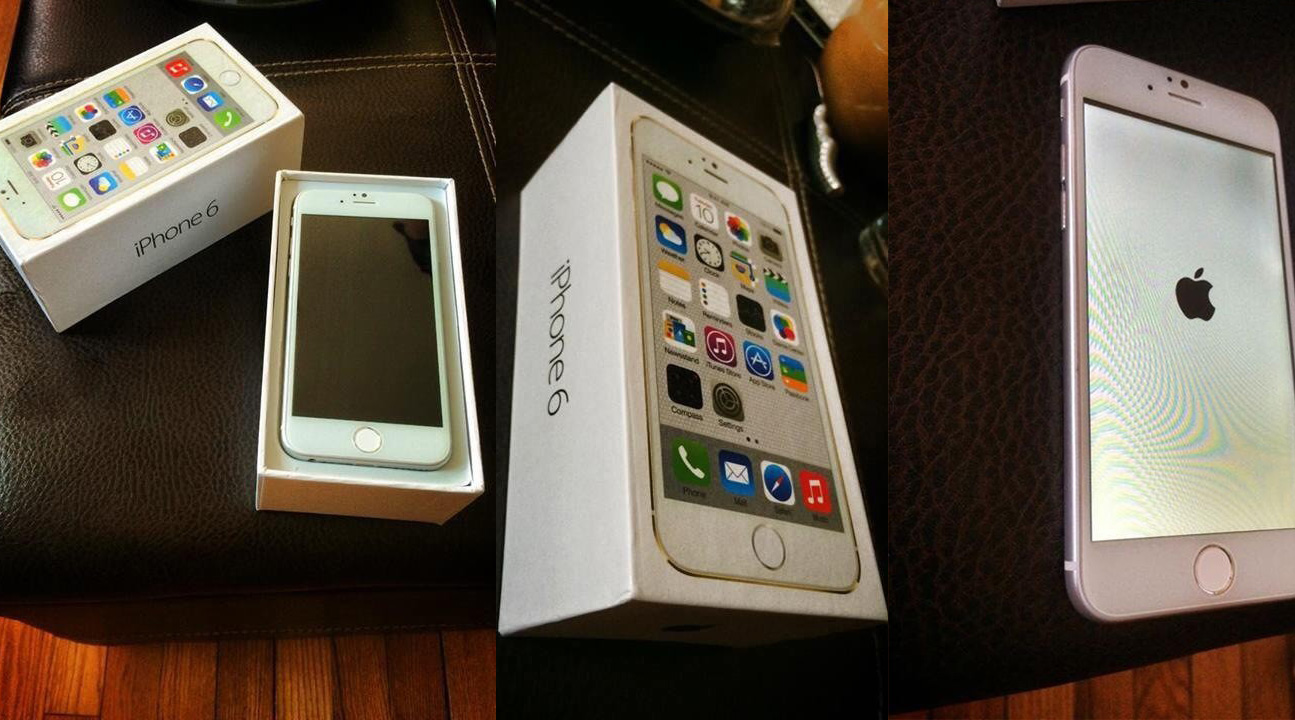 Apple iPhone 6 真機連盒相片流出?