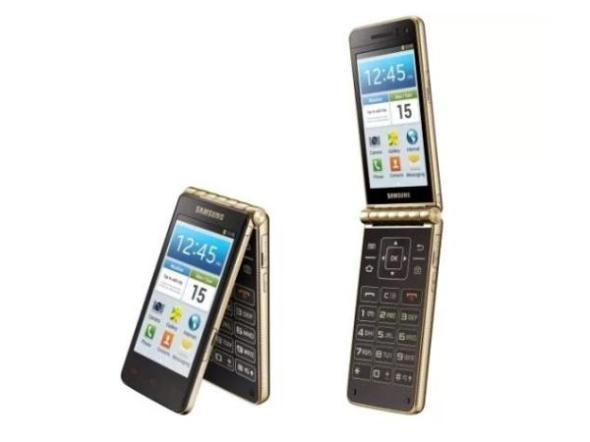 圖中手機為上代 Galaxy Golden