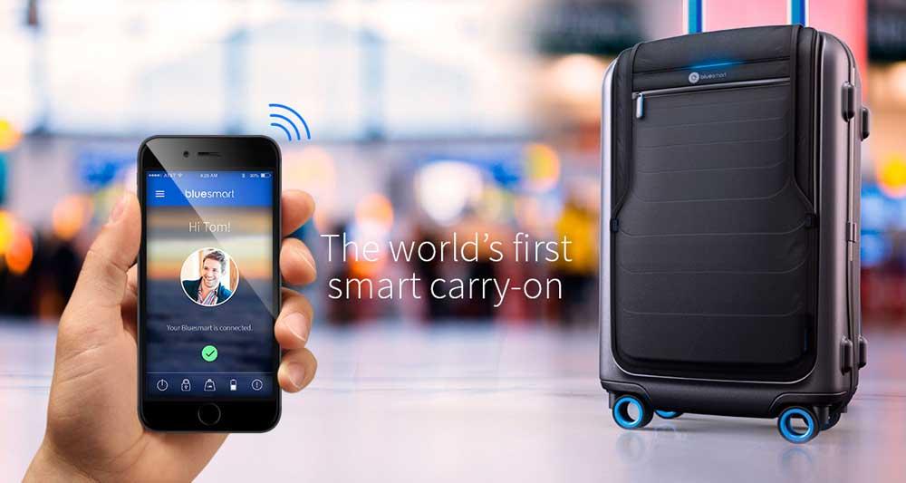 BlueSmart Carry On 藍牙手提行李喼