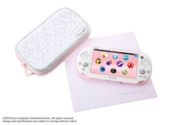 PS Vita PinkWhite_gifts