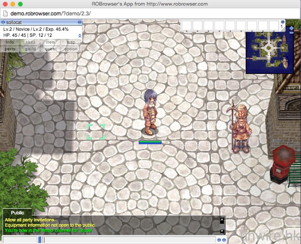 [時代的進步] 無需安裝,開網頁直接玩 RO 仙境傳說