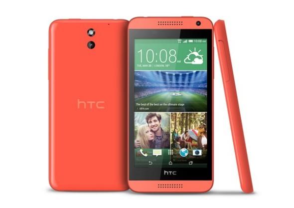 圖為 HTC Desire 610