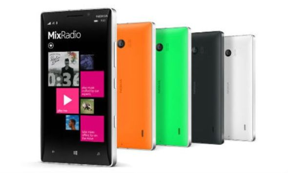 圖為 Nokia Lumia 930