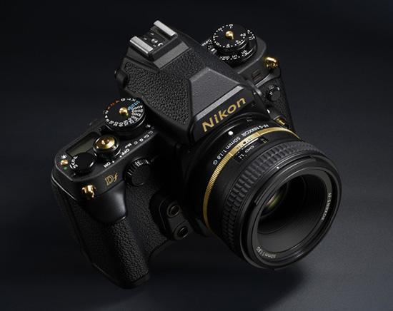 Nikon-Df-Gold-edition-camera