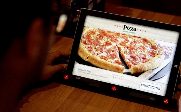 Pizza Hut 新電子餐單!追蹤眼球即知顧客想要哪種配料