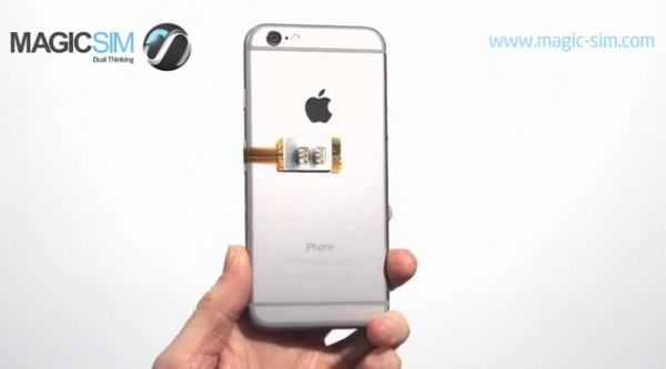 一插即用!MAGICSIM 雙卡轉換器為 iPhone 6 附加雙 SIM 卡功能
