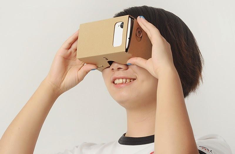 Google 推出大規模 Cardboard 更新