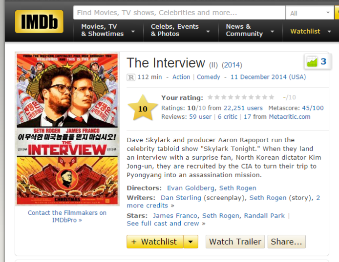 2014-12-22 13_05_21-The Interview (2014) - IMDb