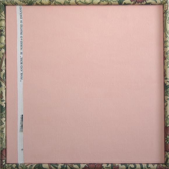 David Mabb-Small Pink and Rose Square