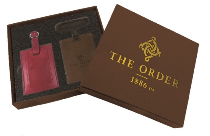 The Order_lugggage tag and card holder set