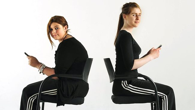 488708-mel-and-maddy-demonstrate-posture