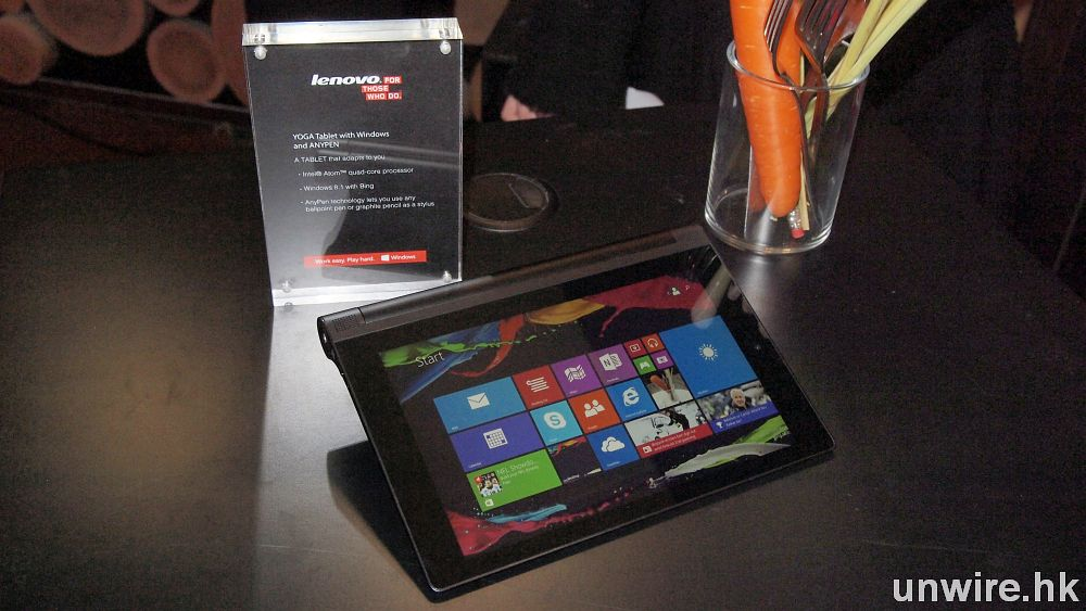 3 K 有找 ! Lenovo 平板大軍到港 : YOGA Tablet 2 (AnyPen)・ YOGA 3・MIIX 3