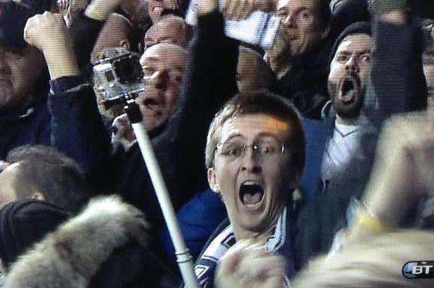 Tottenham-selfie