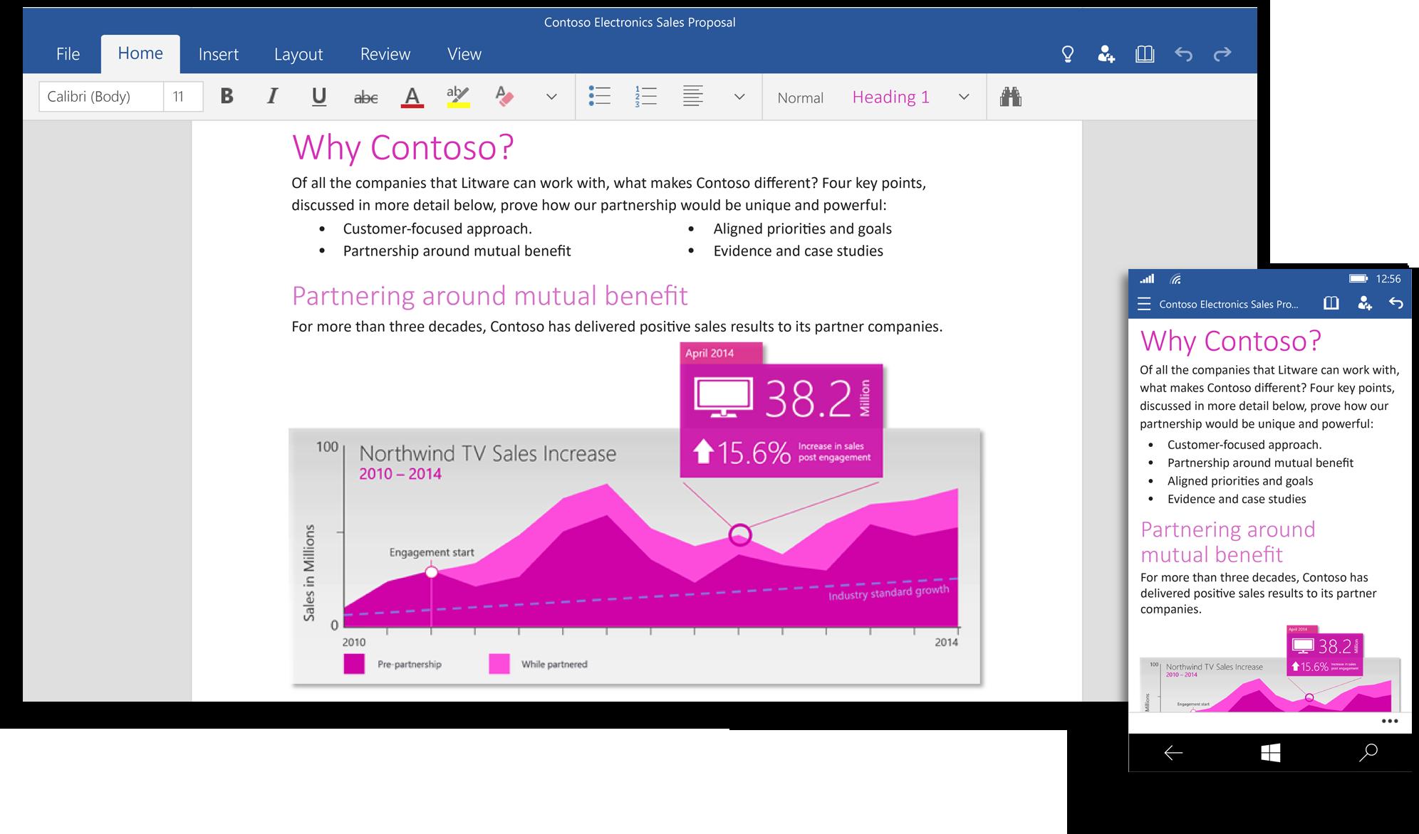 微軟再出招,平板 & 手機版 Office 2016 將完全免費!