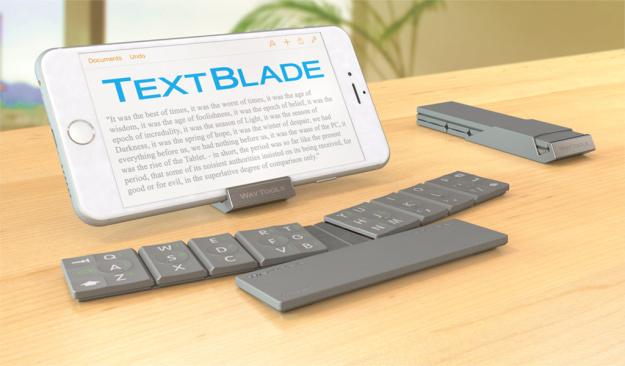 細過部 iPhone!超迷你鍵盤