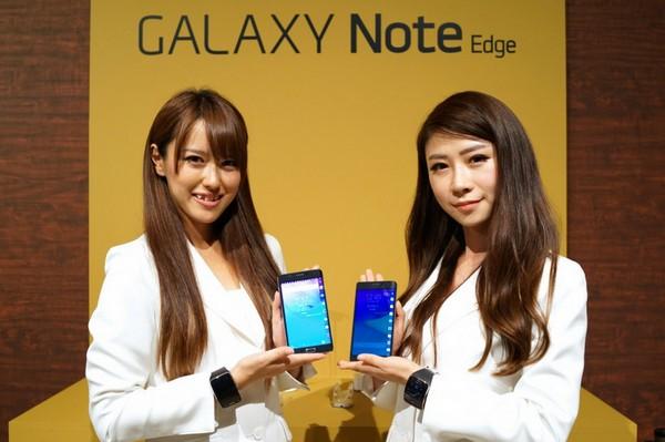 Galaxy Note Edge 並未能為 Samsung 在日本帶來成功