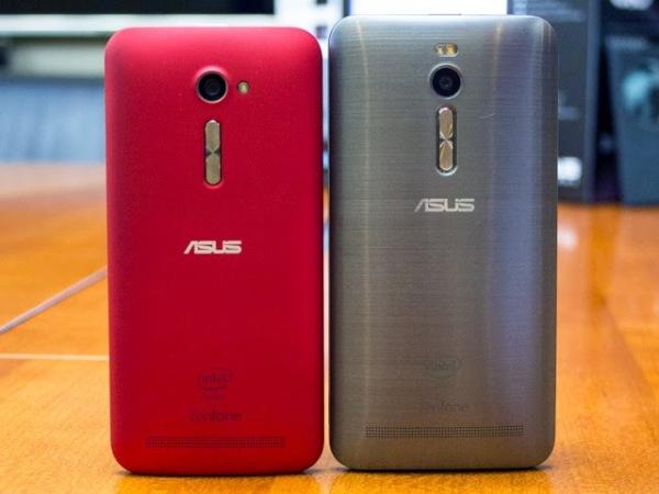 左面為 5 吋 Zenfone 2,右面為 5.5 吋 Zenfone 2