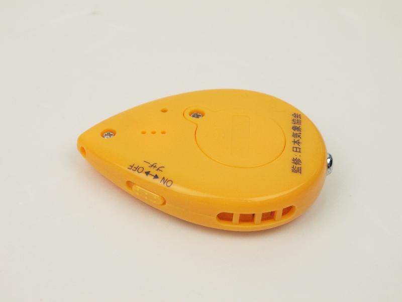 容唔容易患上感冒都有得計?日本氣象協會推出「 攜帶型流感指標計」