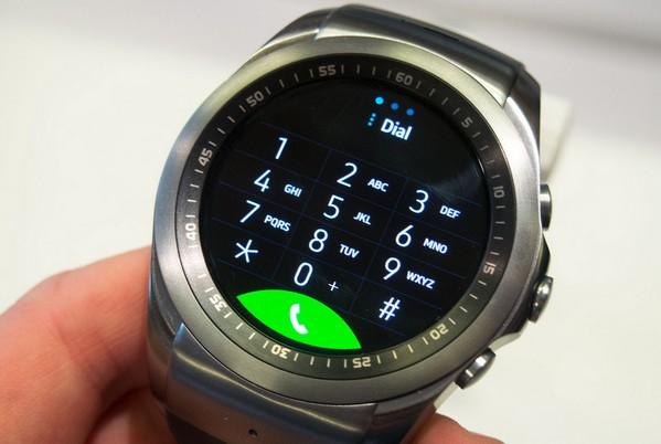 LG Watch 打電話介面