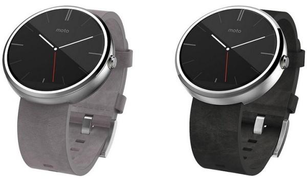 現時 Moto 360 的錶帶扣隱藏在錶身之內