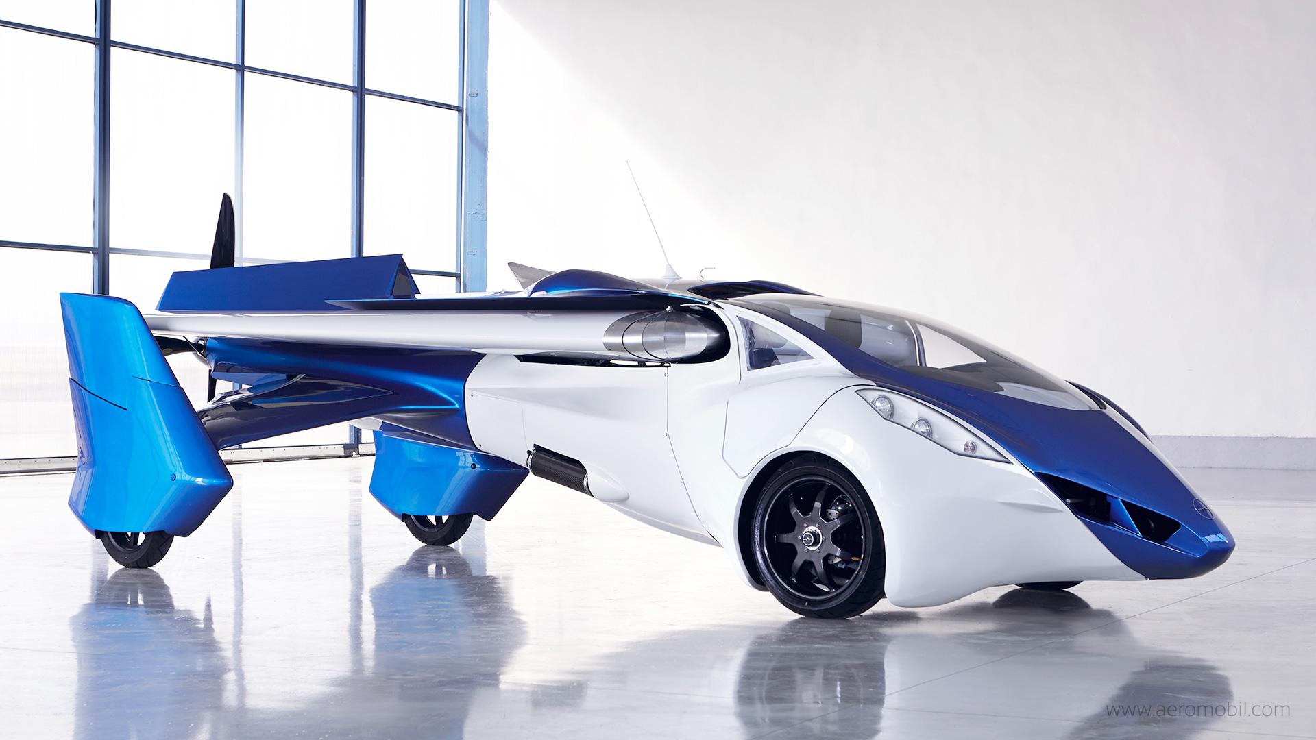 AeroMobil 飛天車預計 2017 年正式「起飛」