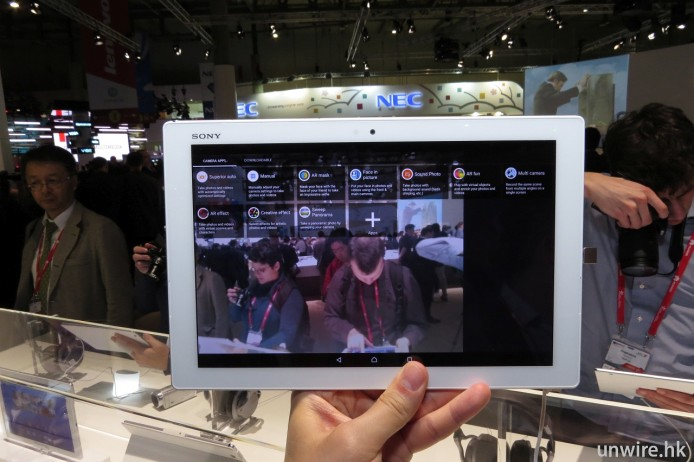 不過模式選擇介面仍然採用傳統 Sony 風格。
