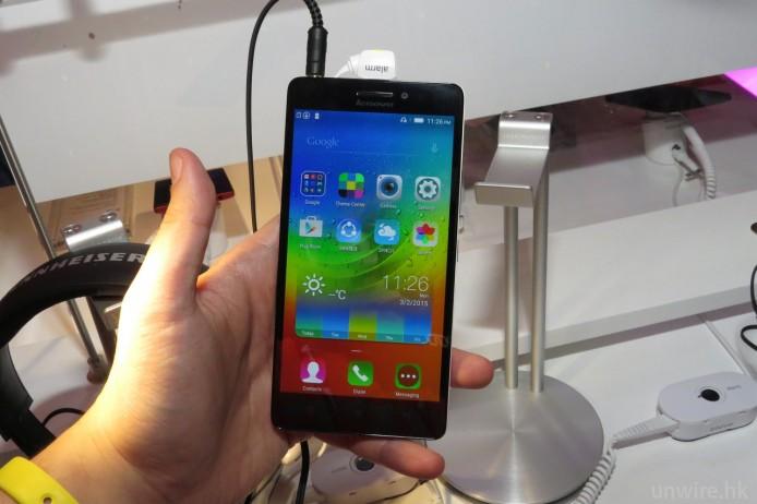 手機設計與一般中階手機分別唔大,即係:無乜特別。