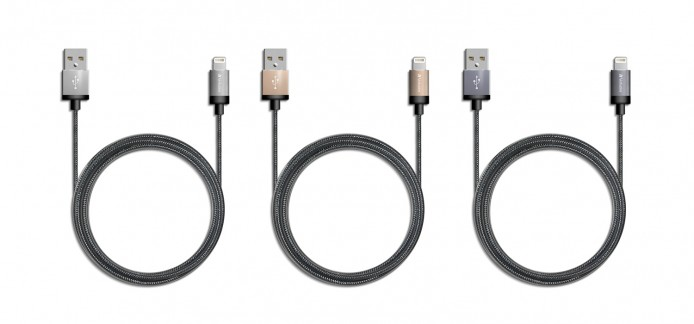 Metallic lightning cables_group