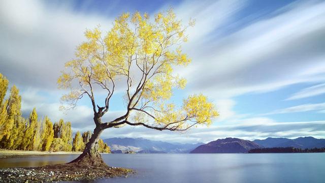 利用 10 級 ND 濾鏡,拍攝長曝自然風景