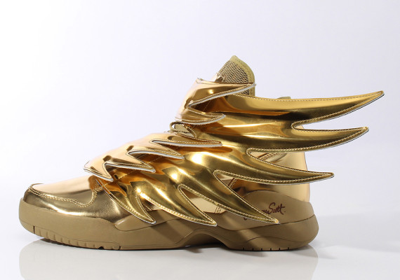 金色 Jeremy Scott x adidas Originals「JS Wings 3.0」如黃金聖衣
