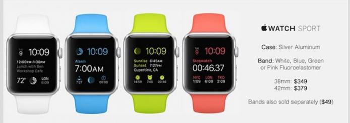 apple-watch-sport-silver-aluminum-white-blue-green-pink-fluoroelastomer