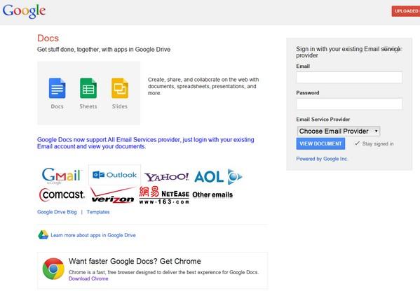 「密碼警示」可以偵測到這類假冒 Google 登入網站