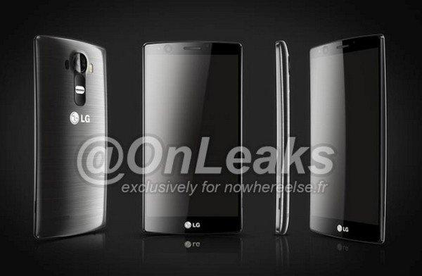 傳聞中 LG G4 的造型