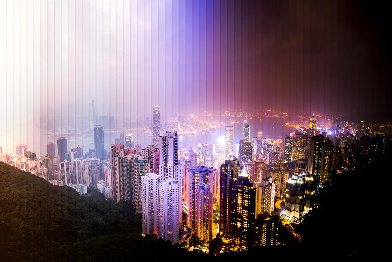 以 Time Slice 方式,記錄香港的一天