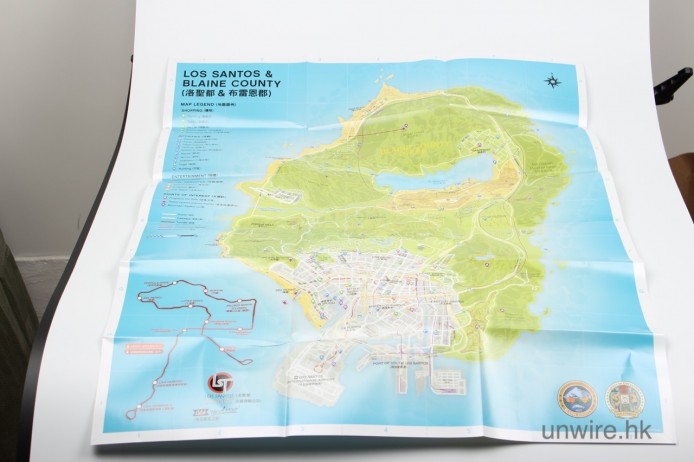 超大張地圖