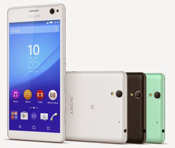 有雙 SIM 卡版本!Sony 正式發表最新款自拍手機 Xperia C4