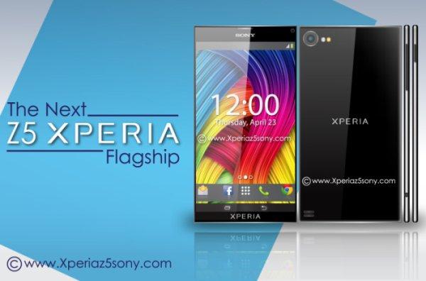 早前流傳的 Xperia Z5 概念設計