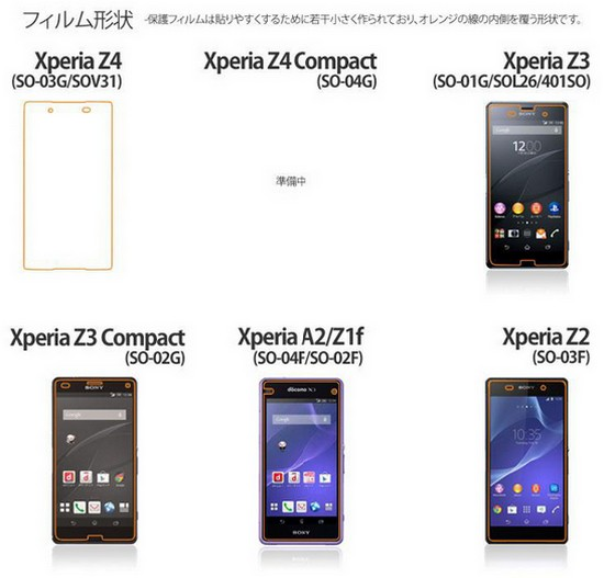 早前 NTT DoCoMo 就率先公開了 Xperia Z4 Compact 的名稱及型號