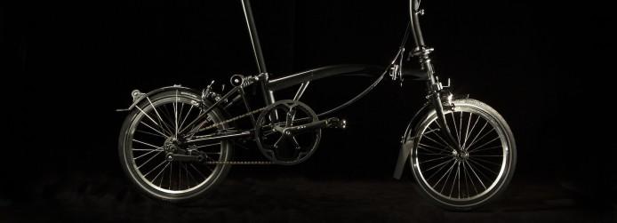 Black Brompton Bikes
