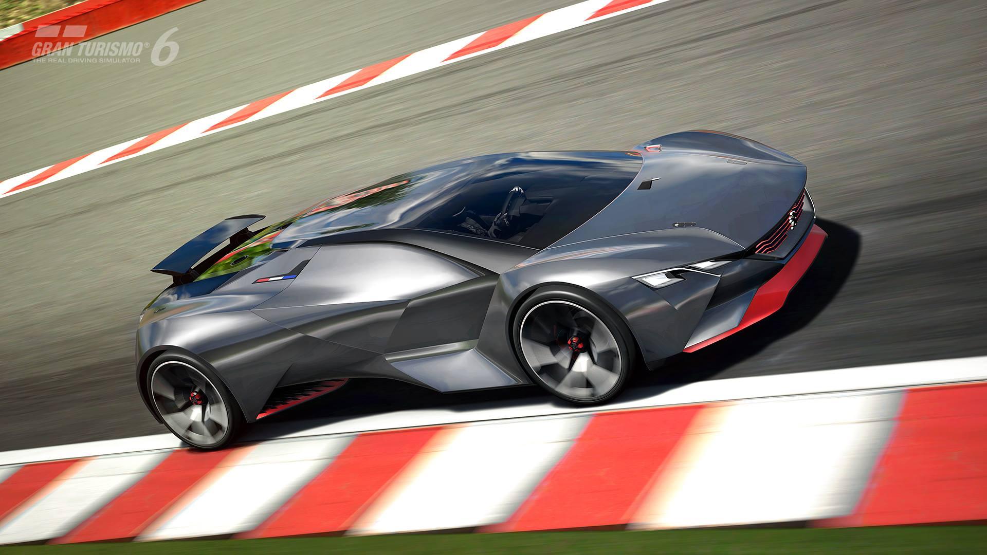 超強加速性能 概念車 Peugeot Vision GT 登錄《GT6》