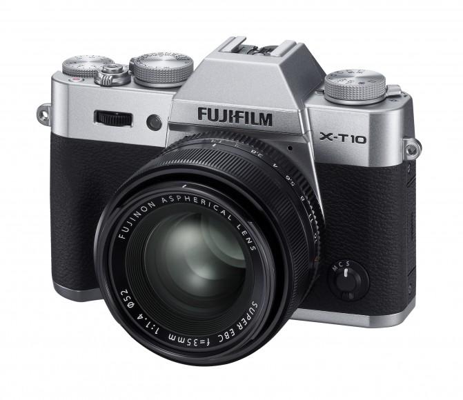X-T10_leftside silver_XF35mm